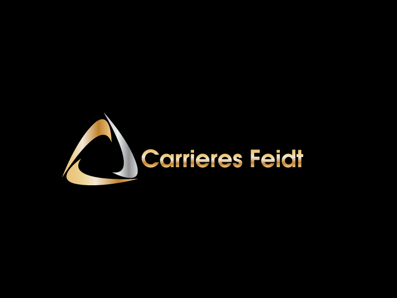 Logo Design by Private User - Entry No. 1 in the Logo Design Contest Carrieres Feidt Logo Design.