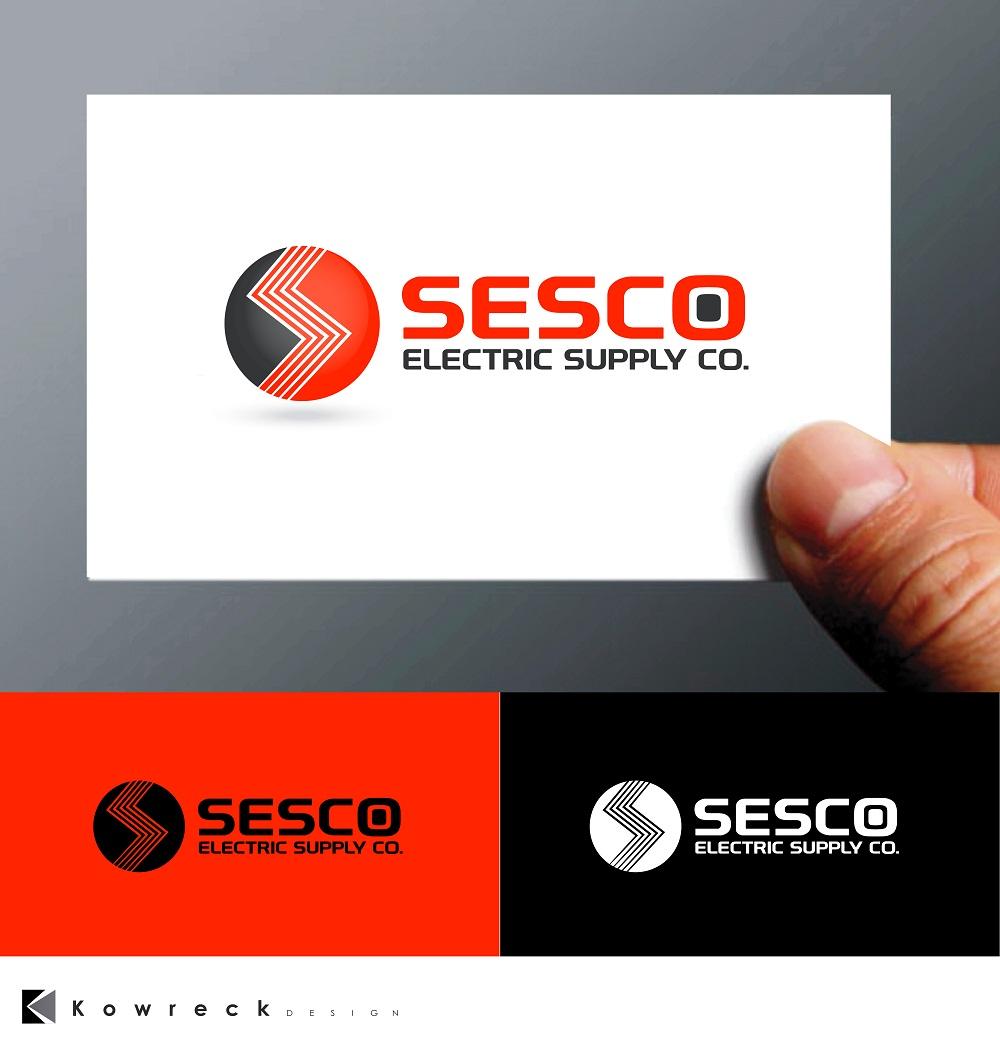 Logo Design by kowreck - Entry No. 6 in the Logo Design Contest SESCO Electric Supply Co. Logo Design.