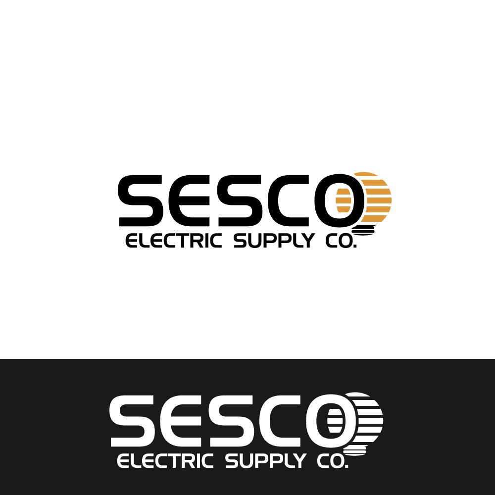 Logo Design by rockin - Entry No. 8 in the Logo Design Contest SESCO Electric Supply Co. Logo Design.