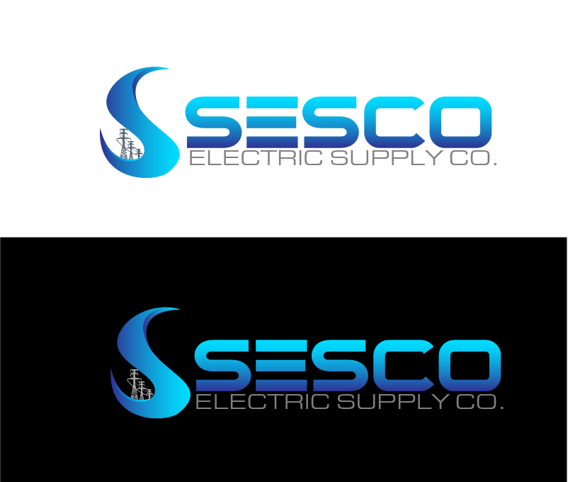 Logo Design by Private User - Entry No. 31 in the Logo Design Contest SESCO Electric Supply Co. Logo Design.