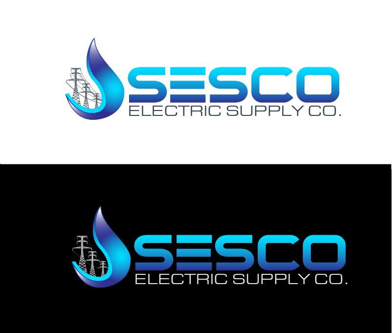 Logo Design by Private User - Entry No. 41 in the Logo Design Contest SESCO Electric Supply Co. Logo Design.