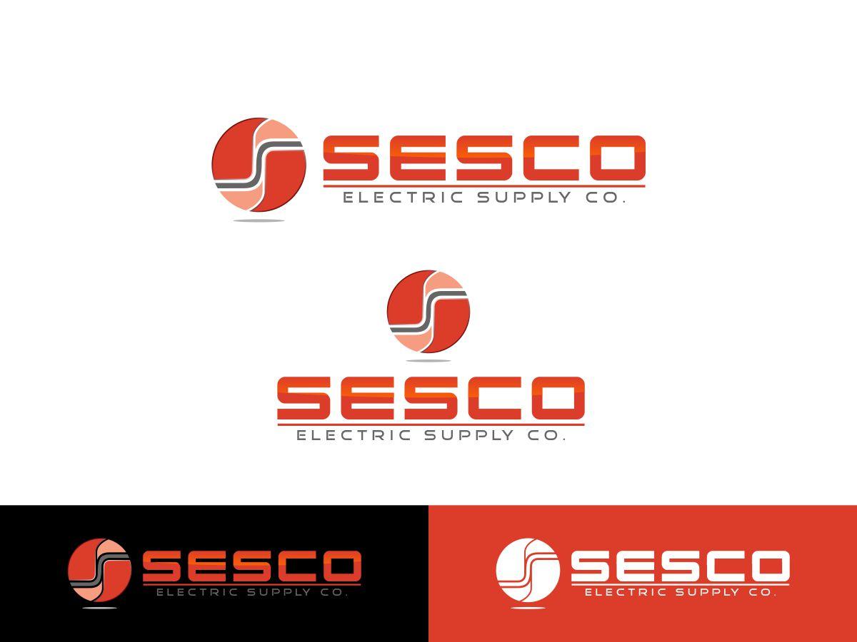 Logo Design by Mhon_Rose - Entry No. 45 in the Logo Design Contest SESCO Electric Supply Co. Logo Design.