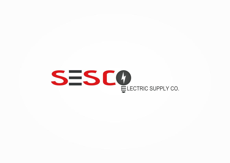 Logo Design by Mitchel Goset Baruel - Entry No. 46 in the Logo Design Contest SESCO Electric Supply Co. Logo Design.