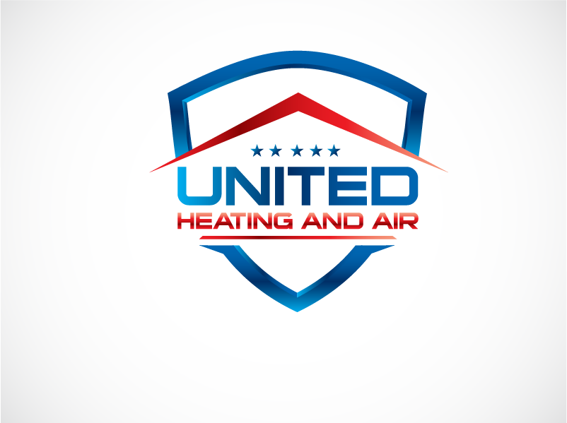 Logo Design by Private User - Entry No. 14 in the Logo Design Contest United Heating and Air Logo Design.