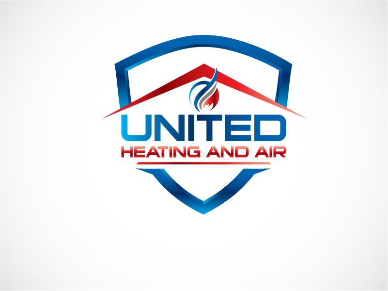 Logo Design by Private User - Entry No. 15 in the Logo Design Contest United Heating and Air Logo Design.