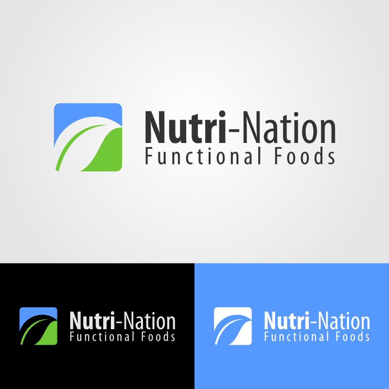 Logo Design by Andrean Susanto - Entry No. 2 in the Logo Design Contest Nutri-Nation Functional Foods Logo.