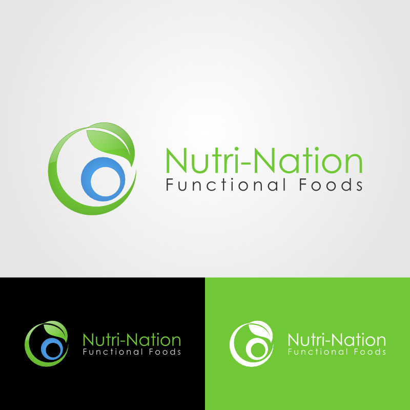 Logo Design by Andrean Susanto - Entry No. 3 in the Logo Design Contest Nutri-Nation Functional Foods Logo.