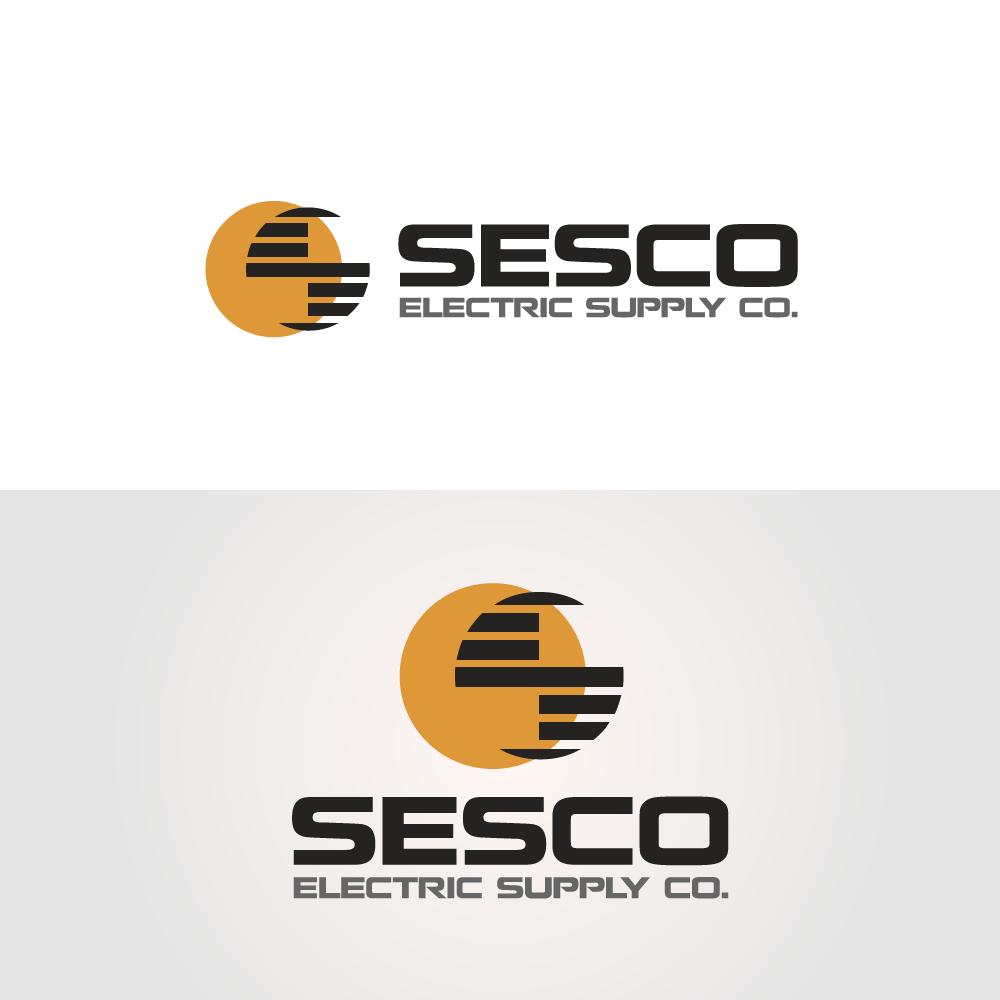 Logo Design by rockin - Entry No. 58 in the Logo Design Contest SESCO Electric Supply Co. Logo Design.