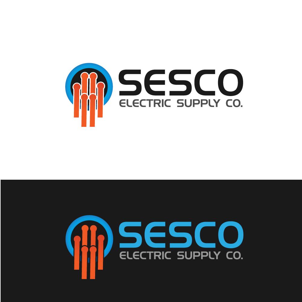 Logo Design by rockin - Entry No. 64 in the Logo Design Contest SESCO Electric Supply Co. Logo Design.