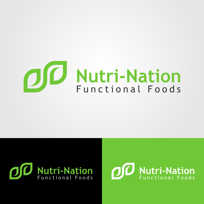Logo Design by Andrean Susanto - Entry No. 11 in the Logo Design Contest Nutri-Nation Functional Foods Logo.