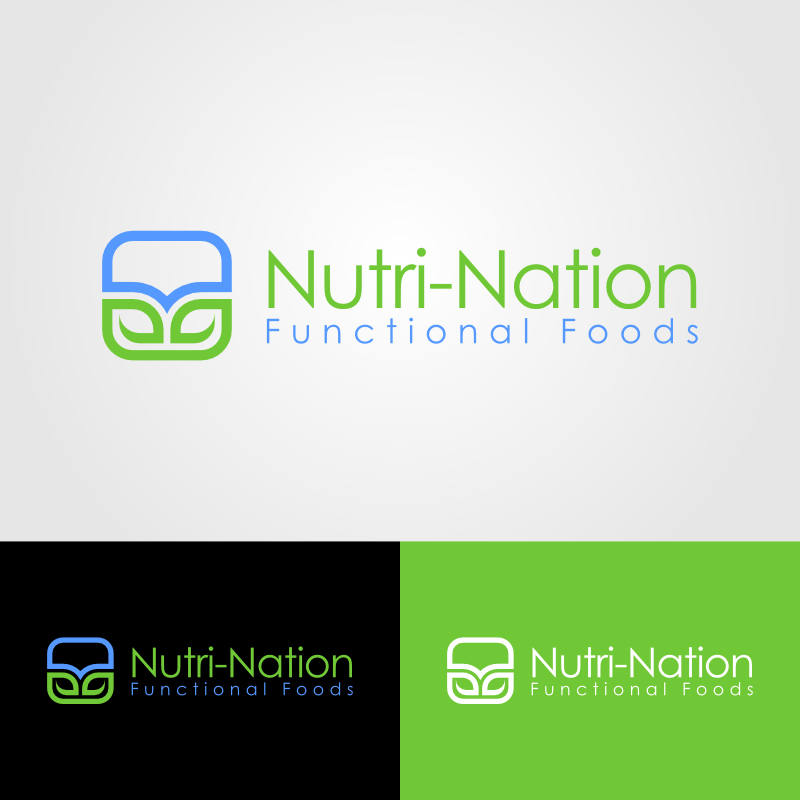 Logo Design by Andrean Susanto - Entry No. 12 in the Logo Design Contest Nutri-Nation Functional Foods Logo.