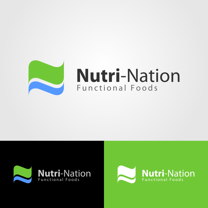Logo Design by Andrean Susanto - Entry No. 13 in the Logo Design Contest Nutri-Nation Functional Foods Logo.