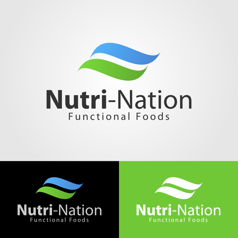 Logo Design by Andrean Susanto - Entry No. 14 in the Logo Design Contest Nutri-Nation Functional Foods Logo.