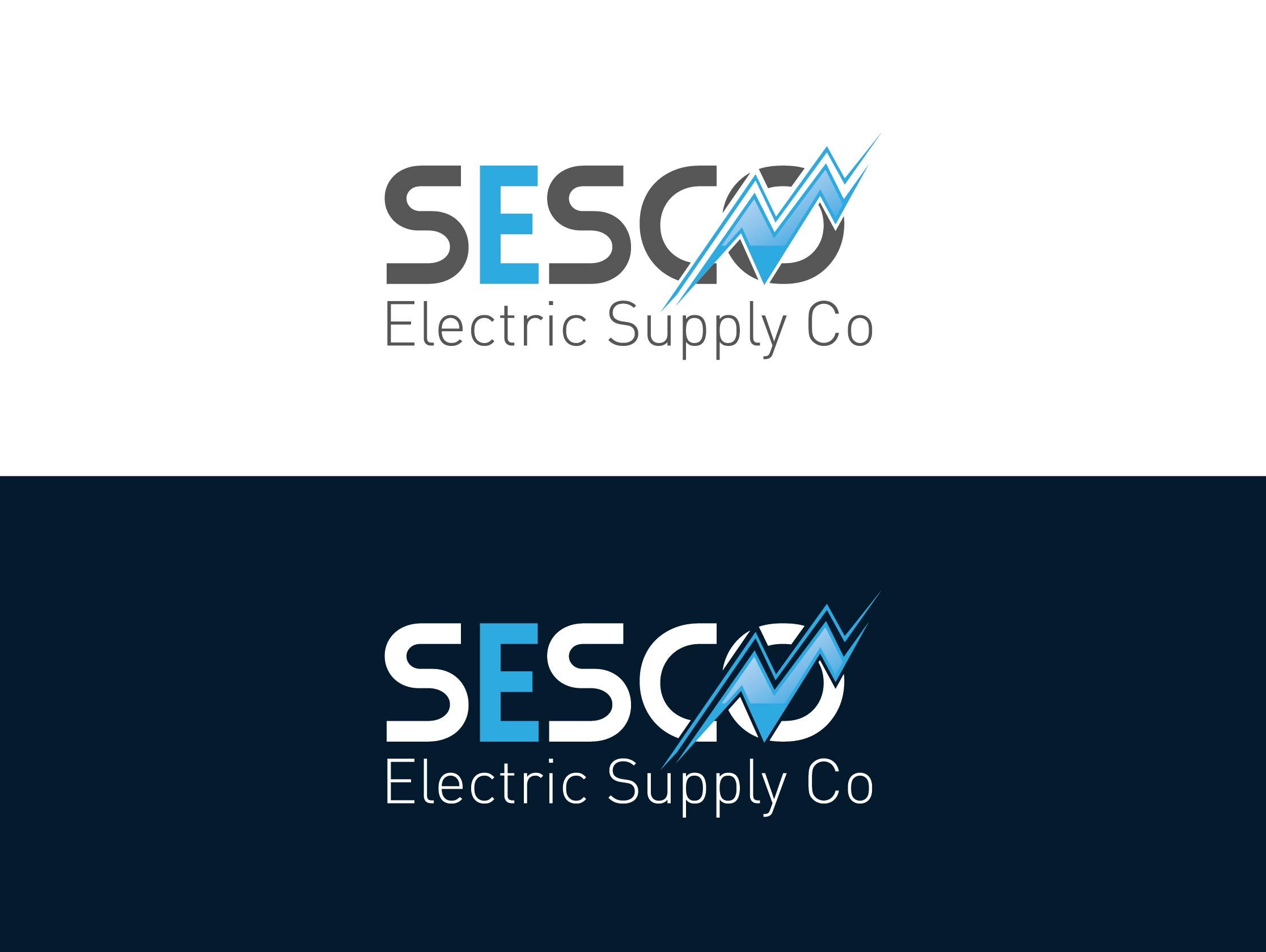 Logo Design by Adnan Taqi - Entry No. 87 in the Logo Design Contest SESCO Electric Supply Co. Logo Design.