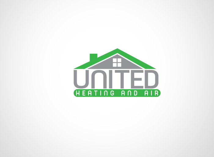 Logo Design by Jan Chua - Entry No. 64 in the Logo Design Contest United Heating and Air Logo Design.
