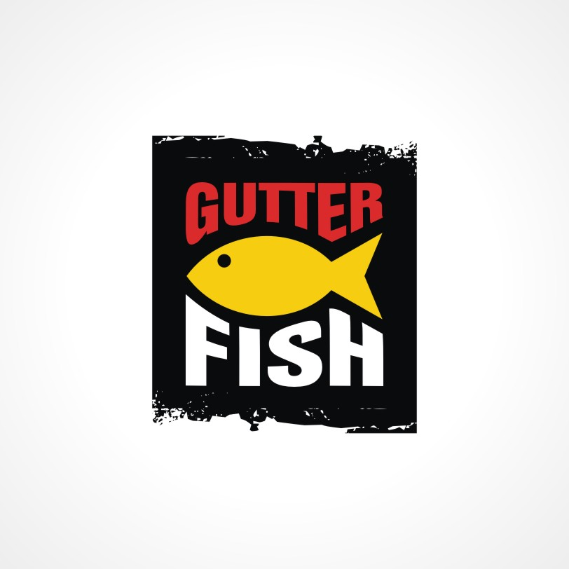 Logo Design by Private User - Entry No. 10 in the Logo Design Contest Captivating Logo Design for Gutter Fish.