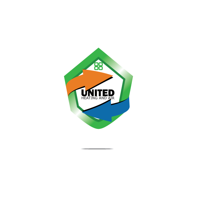 Logo Design by zesthar - Entry No. 70 in the Logo Design Contest United Heating and Air Logo Design.
