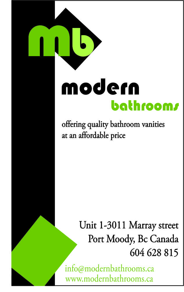 Business Card Design by Korina.Ekl - Entry No. 75 in the Business Card Design Contest modernbathrooms.ca image enhancement.