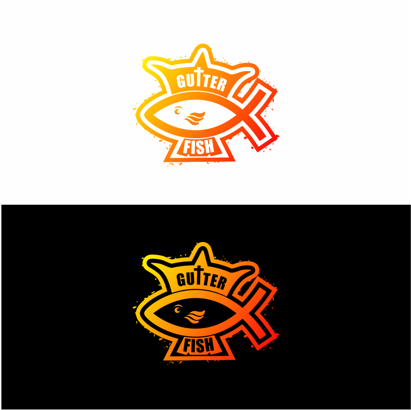 Logo Design by moisesf - Entry No. 25 in the Logo Design Contest Captivating Logo Design for Gutter Fish.