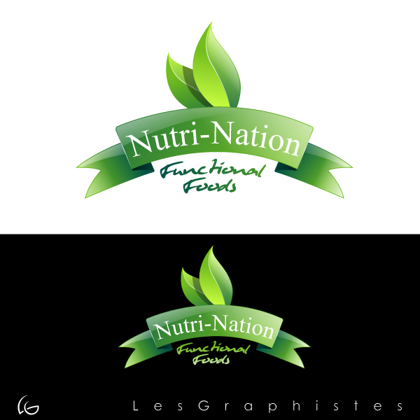 Logo Design by Les-Graphistes - Entry No. 25 in the Logo Design Contest Nutri-Nation Functional Foods Logo.