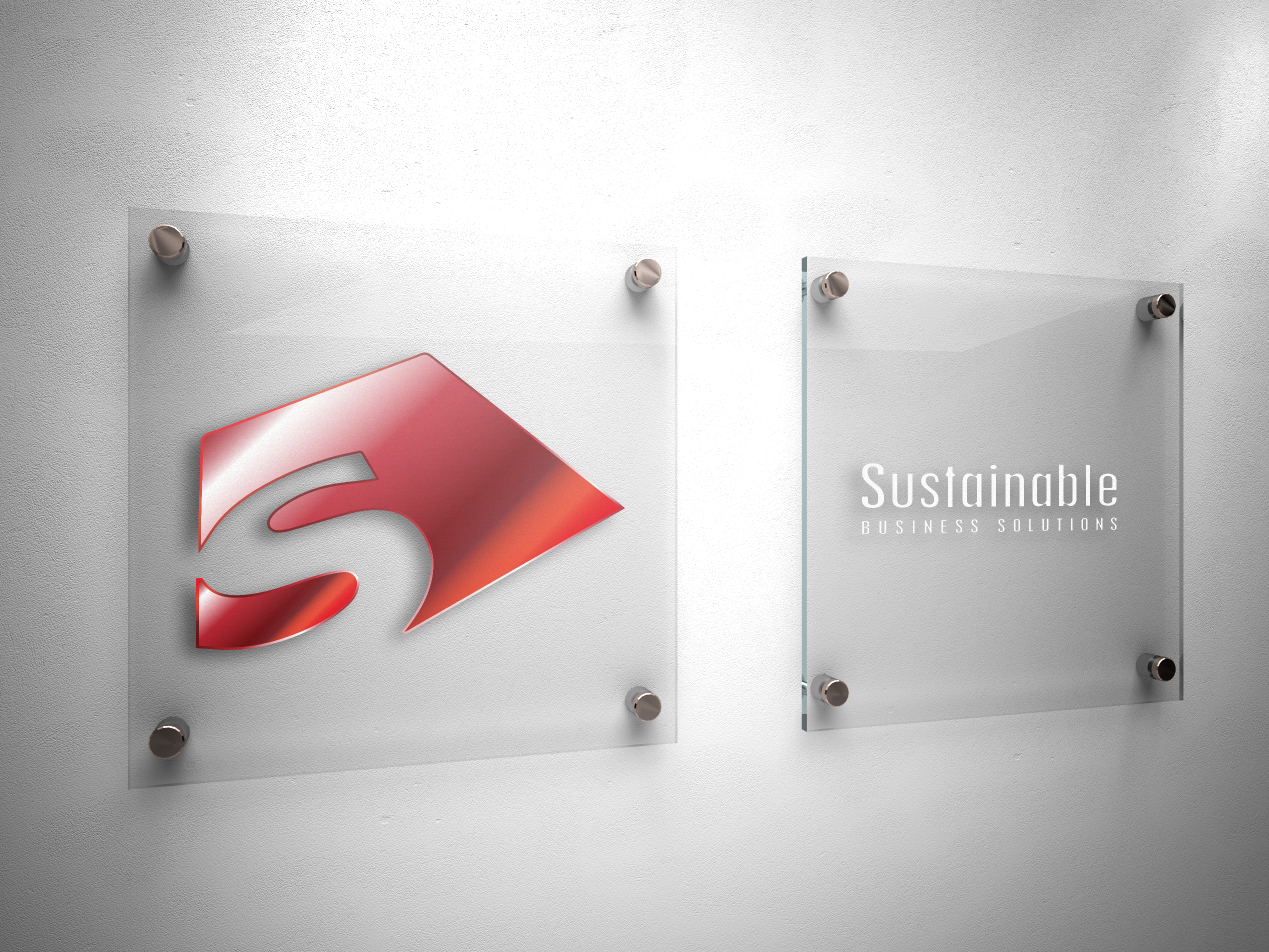 Logo Design by limix - Entry No. 49 in the Logo Design Contest Sustainable Business Solutions Logo Design.