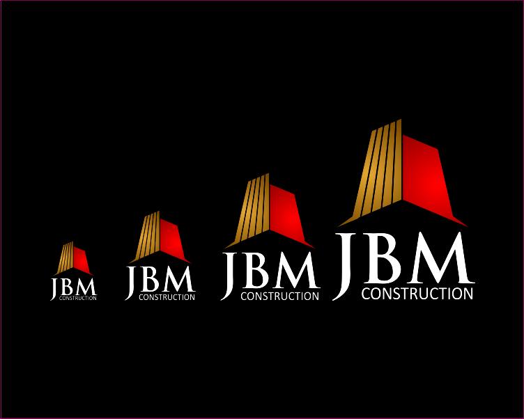 Logo Design by Armada Jamaluddin - Entry No. 9 in the Logo Design Contest Imaginative Logo Design for JBM Construction ltd..