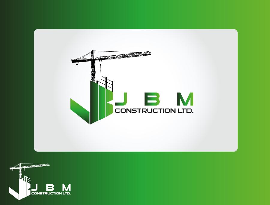 Logo Design by Private User - Entry No. 16 in the Logo Design Contest Imaginative Logo Design for JBM Construction ltd..