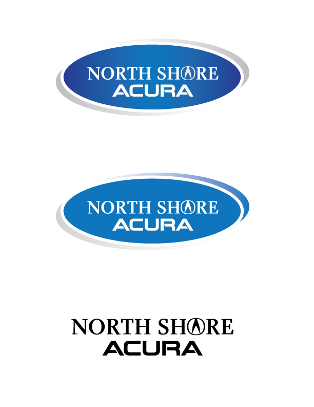 Logo Design by Niclou - Entry No. 15 in the Logo Design Contest North Shore Acura/Formerly Dennison Chevrolet.