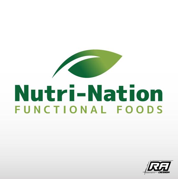 Logo Design by RA-Design - Entry No. 36 in the Logo Design Contest Nutri-Nation Functional Foods Logo.