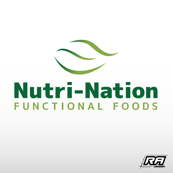 Logo Design by RA-Design - Entry No. 37 in the Logo Design Contest Nutri-Nation Functional Foods Logo.