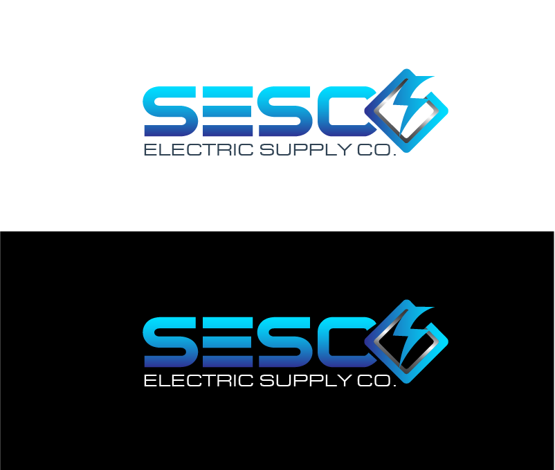 Logo Design by Private User - Entry No. 128 in the Logo Design Contest SESCO Electric Supply Co. Logo Design.