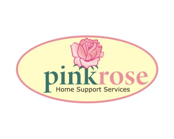 Logo Design by Argie Aljas - Entry No. 153 in the Logo Design Contest Pink Rose Home Support Services.
