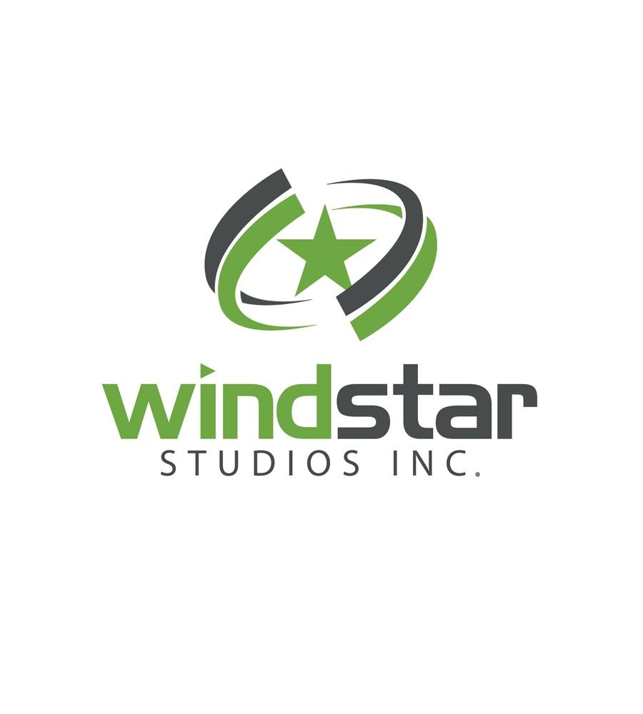 Logo Design by Robert Turla - Entry No. 12 in the Logo Design Contest Unique Logo Design Wanted for Windstar Studios Inc..