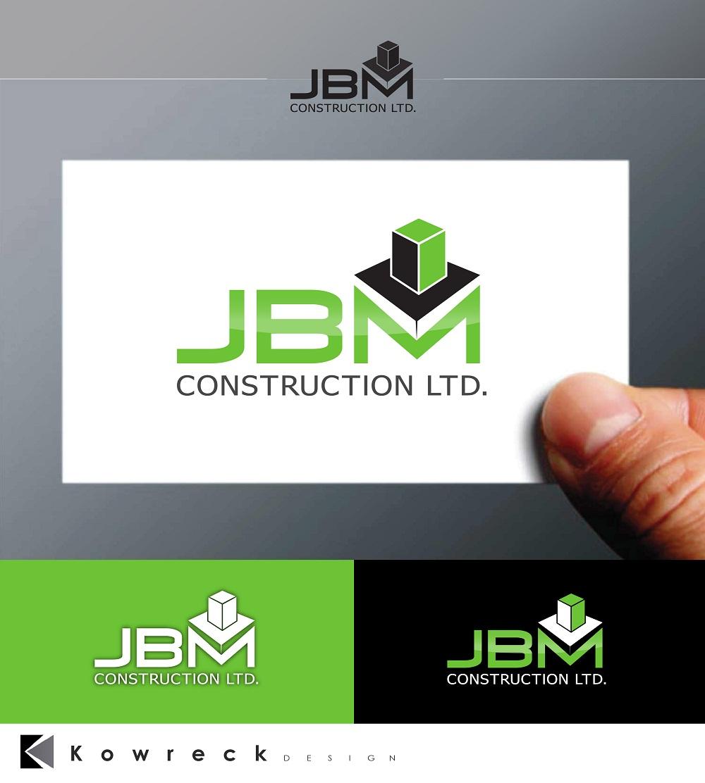 Logo Design by kowreck - Entry No. 39 in the Logo Design Contest Imaginative Logo Design for JBM Construction ltd..