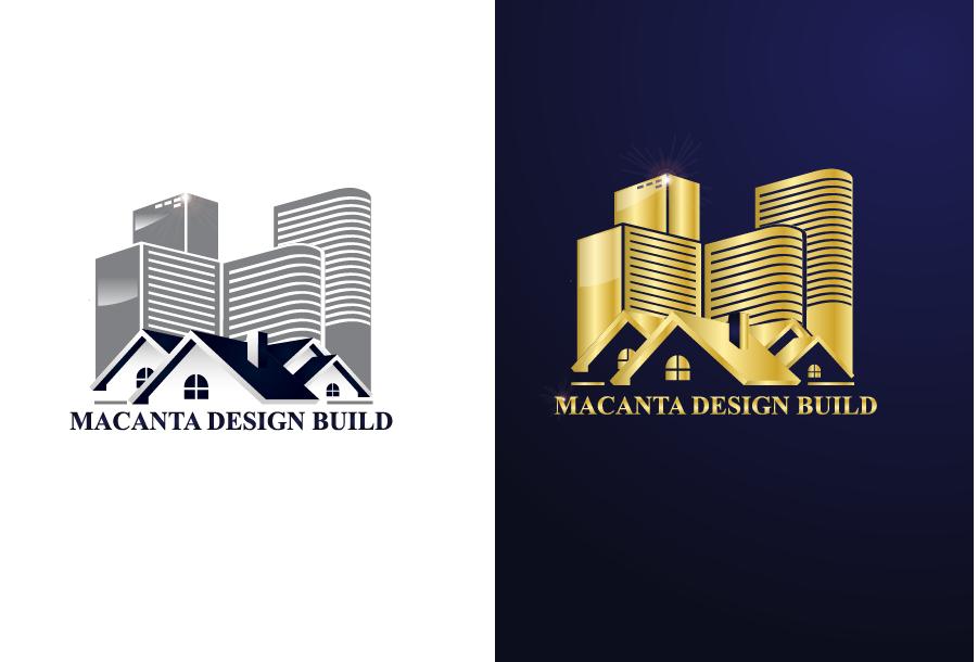Logo Design by Private User - Entry No. 20 in the Logo Design Contest Captivating Logo Design for Macanta Design Build Inc.