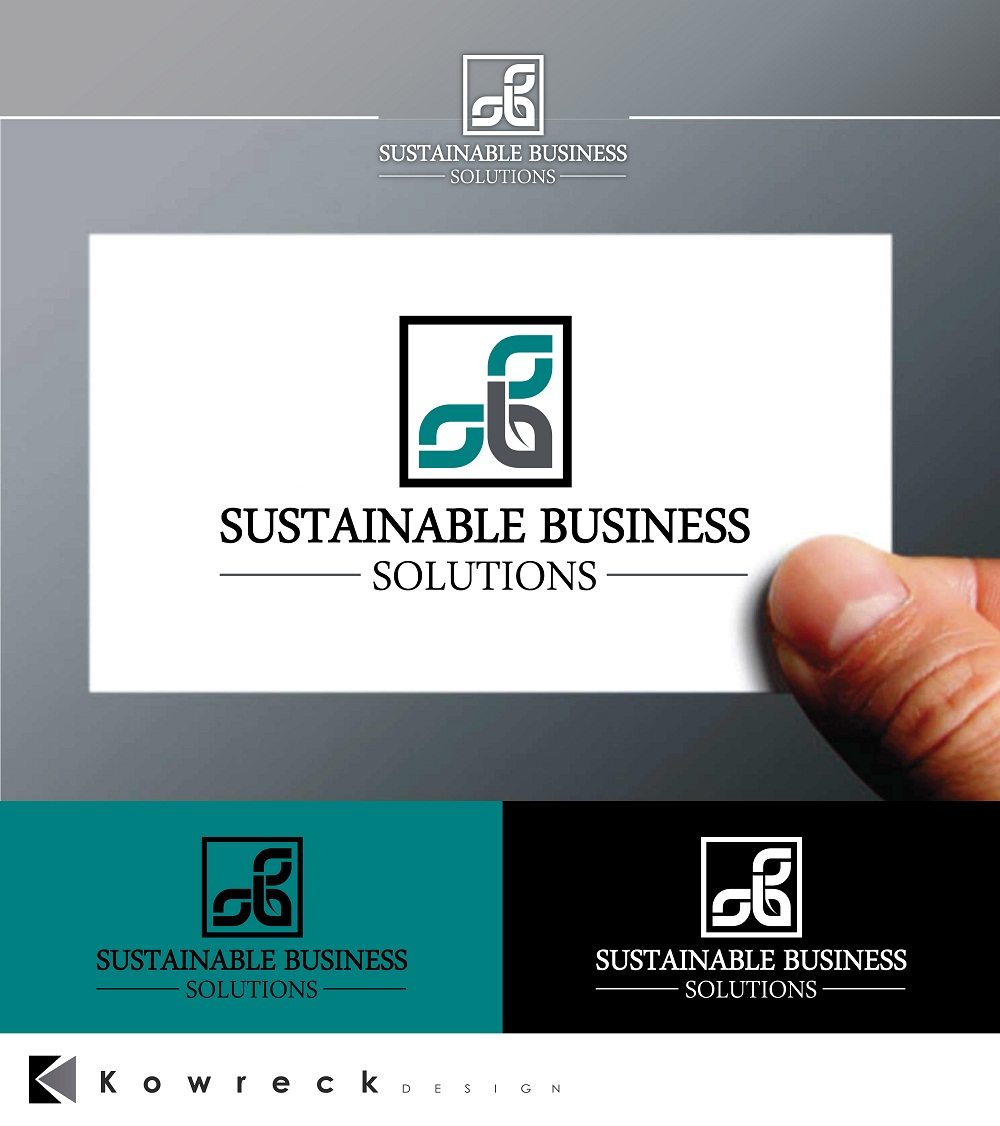 Logo Design by kowreck - Entry No. 90 in the Logo Design Contest Sustainable Business Solutions Logo Design.