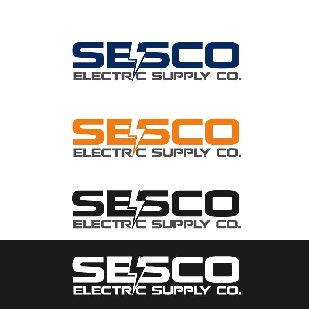 Logo Design by rockin - Entry No. 133 in the Logo Design Contest SESCO Electric Supply Co. Logo Design.
