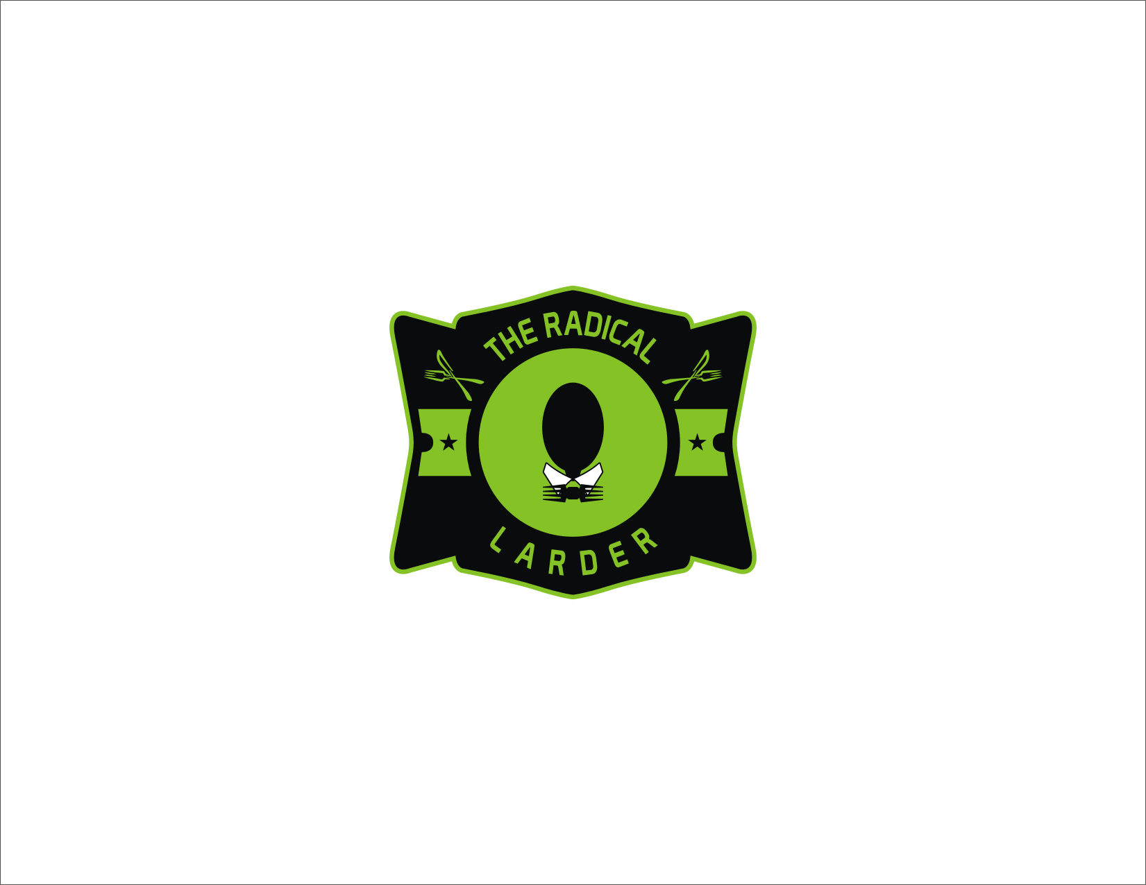 Logo Design by Donand Halilintar - Entry No. 4 in the Logo Design Contest Captivating Logo Design for The Radical Larder.