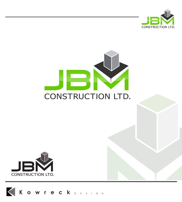 Logo Design by kowreck - Entry No. 49 in the Logo Design Contest Imaginative Logo Design for JBM Construction ltd..