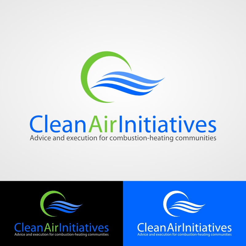 Logo Design by Andrean Susanto - Entry No. 55 in the Logo Design Contest www.CleanAirInitiatives.com.
