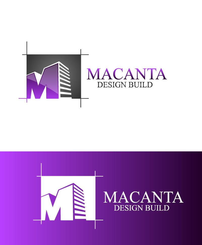 Logo Design by brands_in - Entry No. 38 in the Logo Design Contest Captivating Logo Design for Macanta Design Build Inc.
