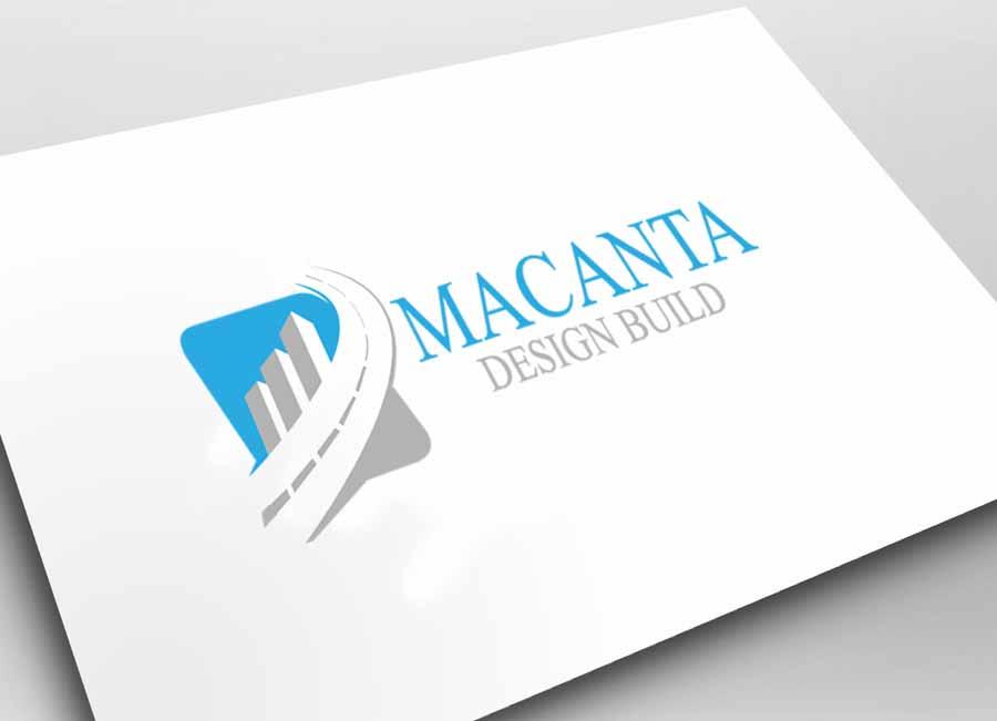 Logo Design by Private User - Entry No. 41 in the Logo Design Contest Captivating Logo Design for Macanta Design Build Inc.