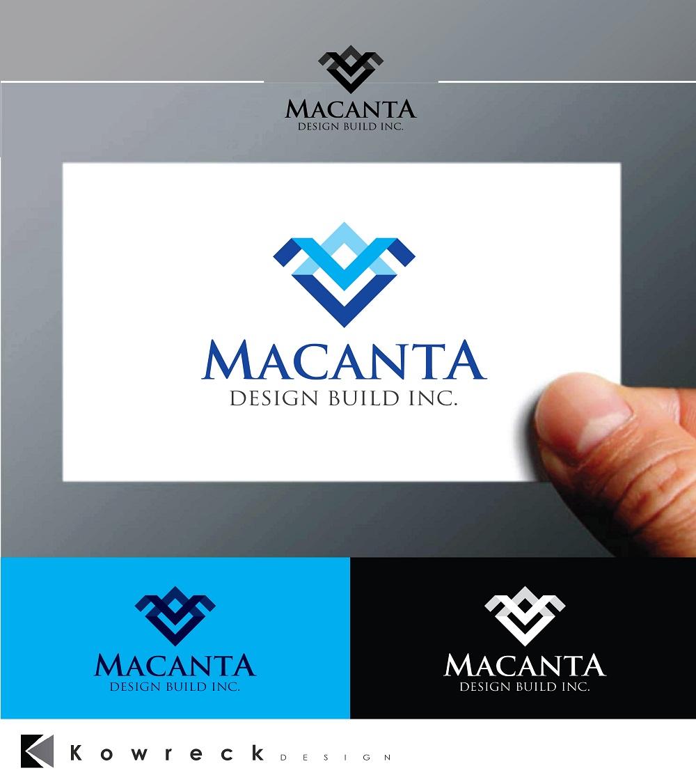 Logo Design by kowreck - Entry No. 53 in the Logo Design Contest Captivating Logo Design for Macanta Design Build Inc.