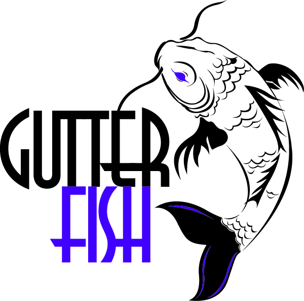 Logo Design by Alisa Muckey - Entry No. 130 in the Logo Design Contest Captivating Logo Design for Gutter Fish.