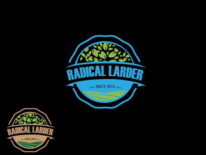 Logo Design by brands_in - Entry No. 14 in the Logo Design Contest Captivating Logo Design for The Radical Larder.
