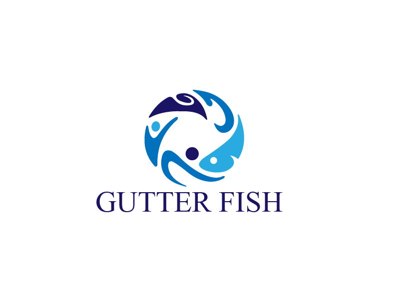 Logo Design by Private User - Entry No. 142 in the Logo Design Contest Captivating Logo Design for Gutter Fish.
