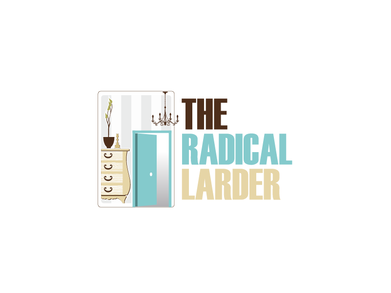 Logo Design by Private User - Entry No. 18 in the Logo Design Contest Captivating Logo Design for The Radical Larder.