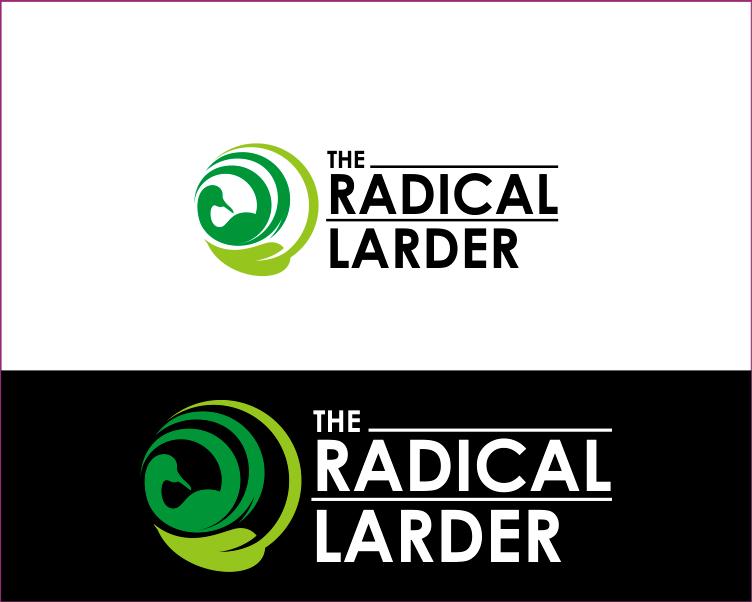 Logo Design by Armada Jamaluddin - Entry No. 28 in the Logo Design Contest Captivating Logo Design for The Radical Larder.