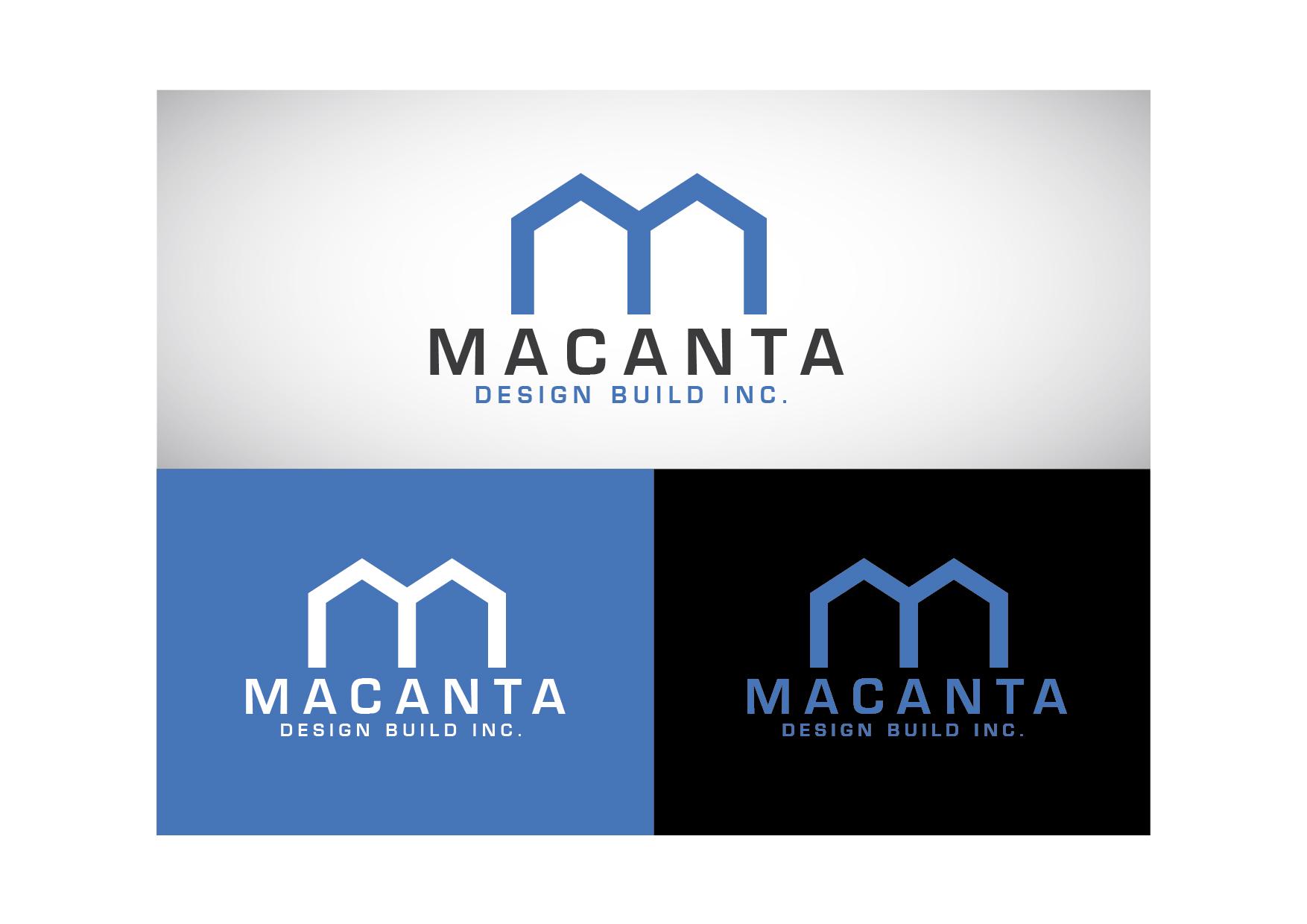 Logo Design by Cutris Lotter - Entry No. 80 in the Logo Design Contest Captivating Logo Design for Macanta Design Build Inc.