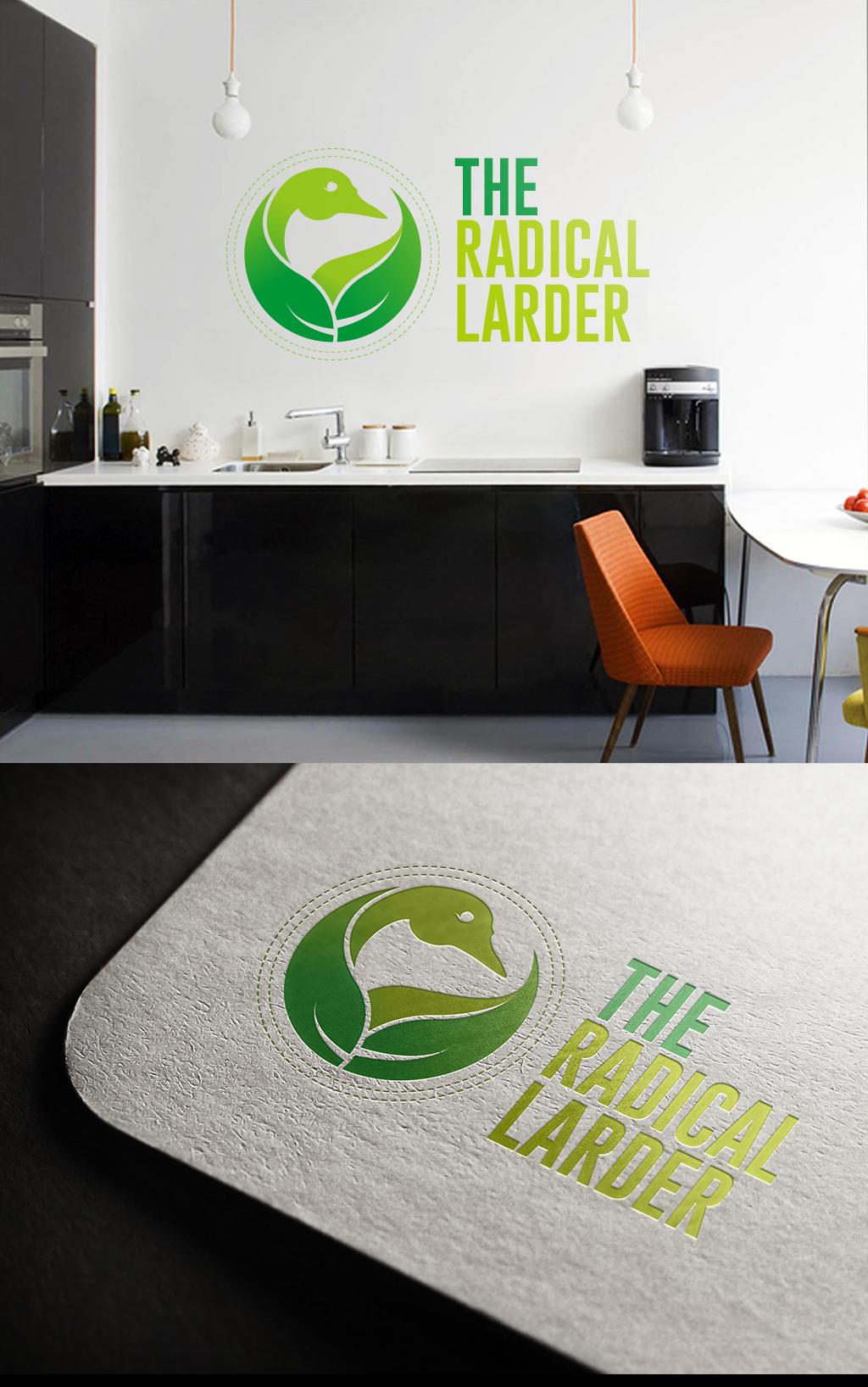 Logo Design by Top Elite - Entry No. 31 in the Logo Design Contest Captivating Logo Design for The Radical Larder.